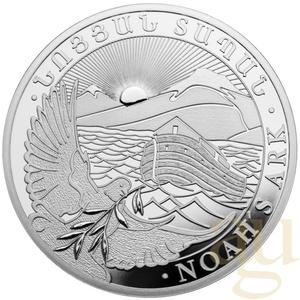 1 Unze Silbermünze Armenien Arche Noah