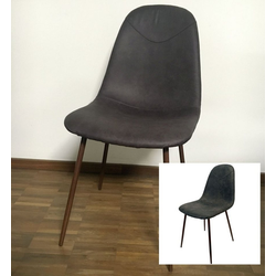 dynamic24 Esszimmerstuhl 2x Kunstleder Schalenstuhl Esszimmerstuhl Küche Esszimmer Stuhl Set Stühle