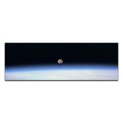 Bilderdepot24 Leinwandbild, Leinwandbild - Weltraum 160 cm x 50 cm