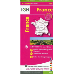 France Routiere Maxi Format 1:1 000 000