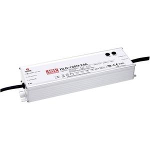 Mean Well HLG-185H-C700A LED-Treiber, LED-Trafo Konstantstrom 200W 0.7A 143 - 286 V/DC PFC-Schaltkre