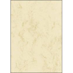 Sigel DP181 Motivpapier Marmor DIN A4 90 g/m² Beige 25 Blatt