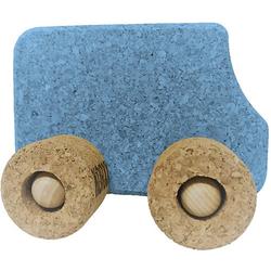 Spielzeugauto Kork Bus, blau