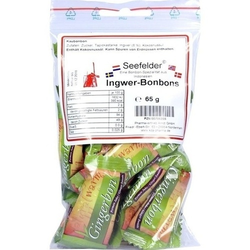 SEEFELDER Ingwer-Bonbons KDA 65 g