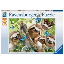 Ravensburger 14790 - Faultier Selfie, Puzzle,