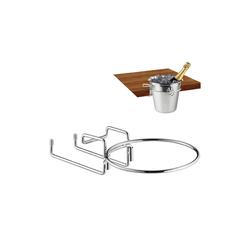 relaxdays Sektkühler Sektkühlerhalter für den Tisch