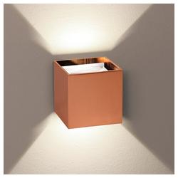 s.LUCE Wandleuchte Ixa LED in Kupfer