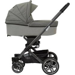 Hartan Kombi-Kinderwagen Vip GTS, mit Falttasche; Made in Germany; Kinderwagen grau