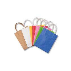 Folia Geschenkpapier Papiertüten 12 x 15 cm farbig, 10 Stück