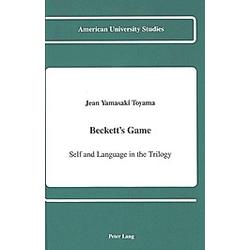 Beckett's Game. Jean Yamasaki Toyama  - Buch