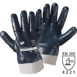 L+D Cross-Nitril 1452 Nitrilkautschuk Arbeitshandschuh Größe (Handschuhe): 10, XL EN 388 CAT II 1
