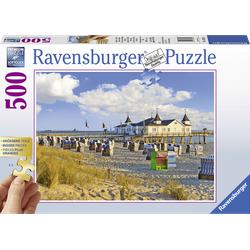 RAVENSBURGER Strandkörbe in Ahlbeck Puzzle Mehrfarbig
