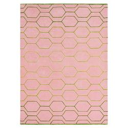 Retro Teppich Arris (Pink; 250 x 350 cm)