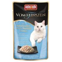 Animonda Vom Feinsten mit Hühnchenfilet & weißem Thunfisch in Sauce 18 x 50 g