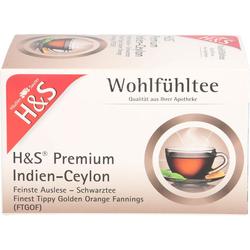H&S Schwarztee Premium Indien-Ceylon Filterbeutel 36 g
