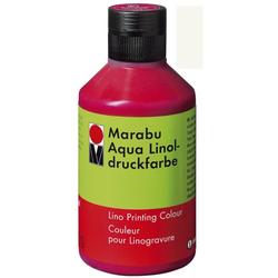 MARABU MARABU 1510 13 070 250ml Linoldruckfarbe Aqua weiß