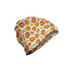 Abakuhaus Beanie Wandern im Freien Orange und Gelb Kürbissamen