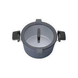 WOLL Bräter Induktions-Gusstopf Concept Plus, Aluminium-Guss, alle Herdarten und Herdplatten bis 18,00 cm