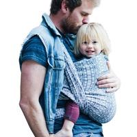 Didymos Babytragetuch, Prima tiefblau/weiß