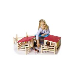Eichhorn Spielfigur Pferdestall, 29-tlg.