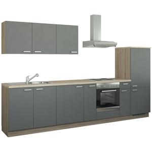 Küchenzeile mit Elektrogeräten  Fulda ¦ grau