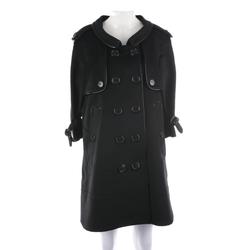 BURBERRY Damen Wollmantel schwarz, Größe 38, 5084839