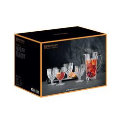 Nachtmann Gläser-Set Noblesse Trinkglas Krug Set (5-tlg), Kristallglas