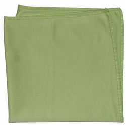Fenstertuch Microfasertuch für Fenster, grün klein