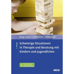 Schwierige Situationen in Therapie und Beratung mit Kindern und Jugendlichen