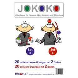 JOKOKO-DIN A5-Karten - SET 3 + Set 4 (DIN A5 Karten)