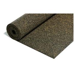 acerto® Dämmplatte Gummi-Korkmatte Trittschalldämmung, 10,5m² / 3mm