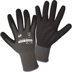 Worky L+D FOAM SANDY 1160-9 Nylon Arbeitshandschuh Größe (Handschuhe): 9, L EN 388:2016 CAT II 1 P