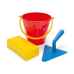 dantoy Sandkasten Dantoy Maurer-Set Sandkasten Spielzeug Kinder-Garten Geschenk Sand-Burg bauen, fördert die Kreativität