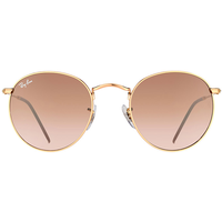Ray Ban Round Metal RB3447 50mm bronze-copper / pink-brown gradient