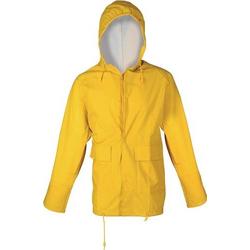 PU Regenschutz-Jacke Gr. XL gelb 100%PES