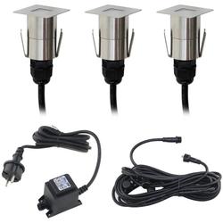 VBLED LED Einbauleuchte Mini LED Terrassenbeleuchtung Bodeneinbauleuchte