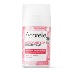 Acorelle Deo Roll-On - Wild Rose 50ml