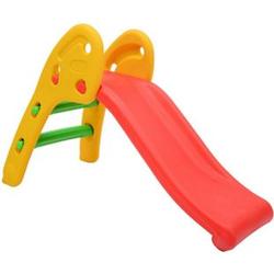 HOMCOM Kinderrutsche mehrfarbig (per Zufall versendet) 110 x 54 x 70 cm (LxBxH)   Gartenrutsche Babyrutsche Spielzeug Rutsche