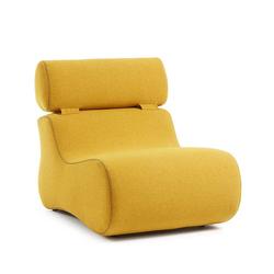 Polstersessel in Gelb modern