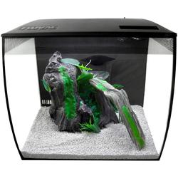 FLUVAL Aquarium FL Flex 34 L, 34 Liter, BxTxH: 35,5x33x31 cm, mit gebogener Frontscheibe