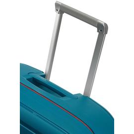 Samsonite S'Cure 4-Rollen 69 cm / 79 l petrol blue stripes