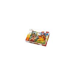 Trefl Puzzle Puzzle 100 Teile - Der König der Löwen, Puzzleteile
