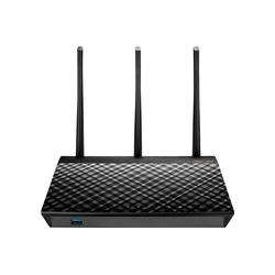 Asus RT-AC1900U WLAN Router schwarz