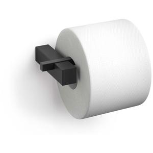 ZACK Toilettenpapierhalter CARVO aus Edelstahl matt schwarz