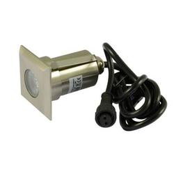 LED Einbaustrahler ARGOS IP67 eckig HP RGB 12V DC 2W 45mm