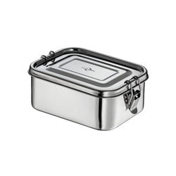 KÜCHENPROFI Lunchbox CLASSIC Edelstahl 17,5 x 13 cm Lunch-Box Brotdose