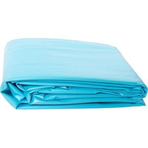 Poolomio PVC-Poolinnenfolie, hochwertige, kältebeständige Folie für den Pool, geeignet für Stahlwandpools mit Ø 350 x 90 cm, runde Poolfolie
