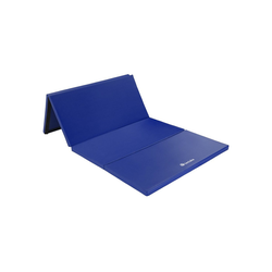 tectake Yogamatte Gymnastikmatte blau