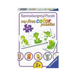 Ravensburger Puzzle my first Color Puzzle, 6 x 4 Teile, Meine liebsten, Puzzleteile