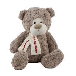 Teddys Rothenburg Kuscheltier Teddybär Flori 30 cm grau (Stoffteddys Teddybären aus Plüsch Plüschteddybären Teddys)